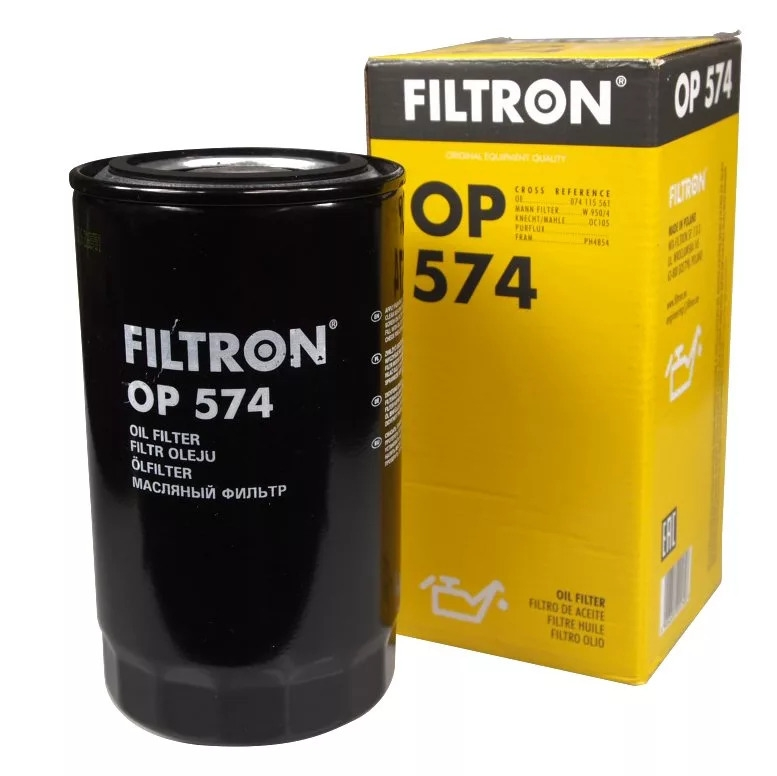 OP574 фильтр масляный Filtron