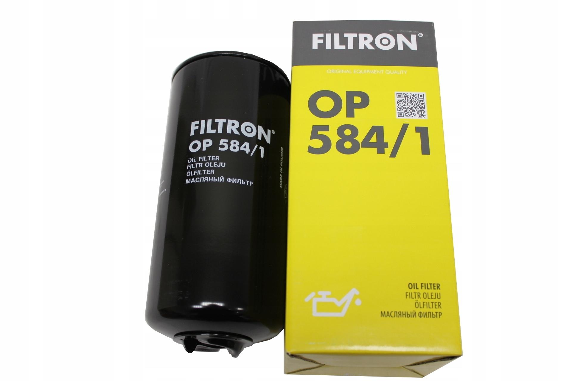 OP584/1 фильтр масляный Filtron