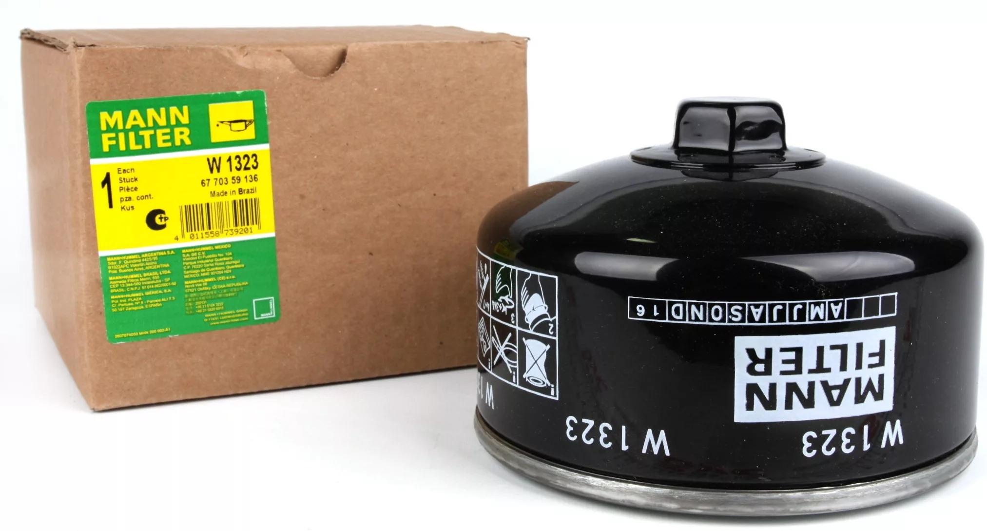 W1323 фильтр масляный Mann-Filter