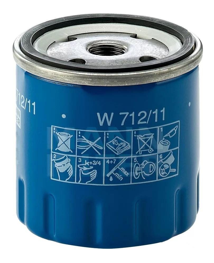 W712/11 фильтр масляный Mann-Filter