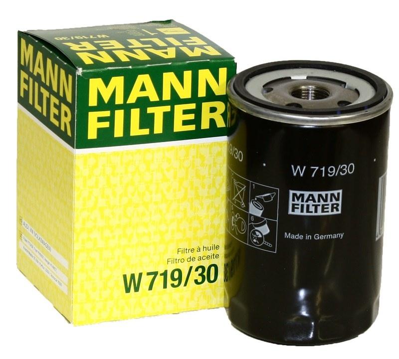 W719/30 фильтр масляный Mann-Filter