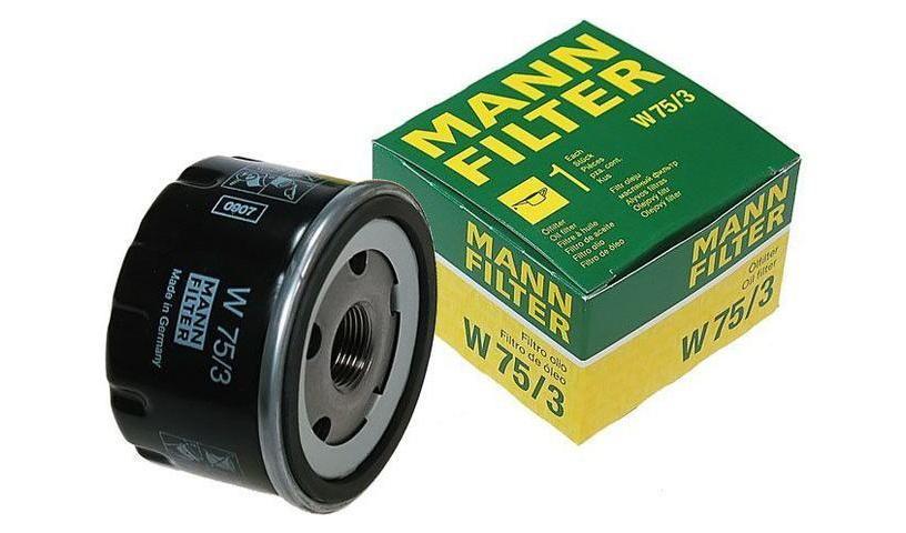 W75/3 фильтр масляный Mann-Filter
