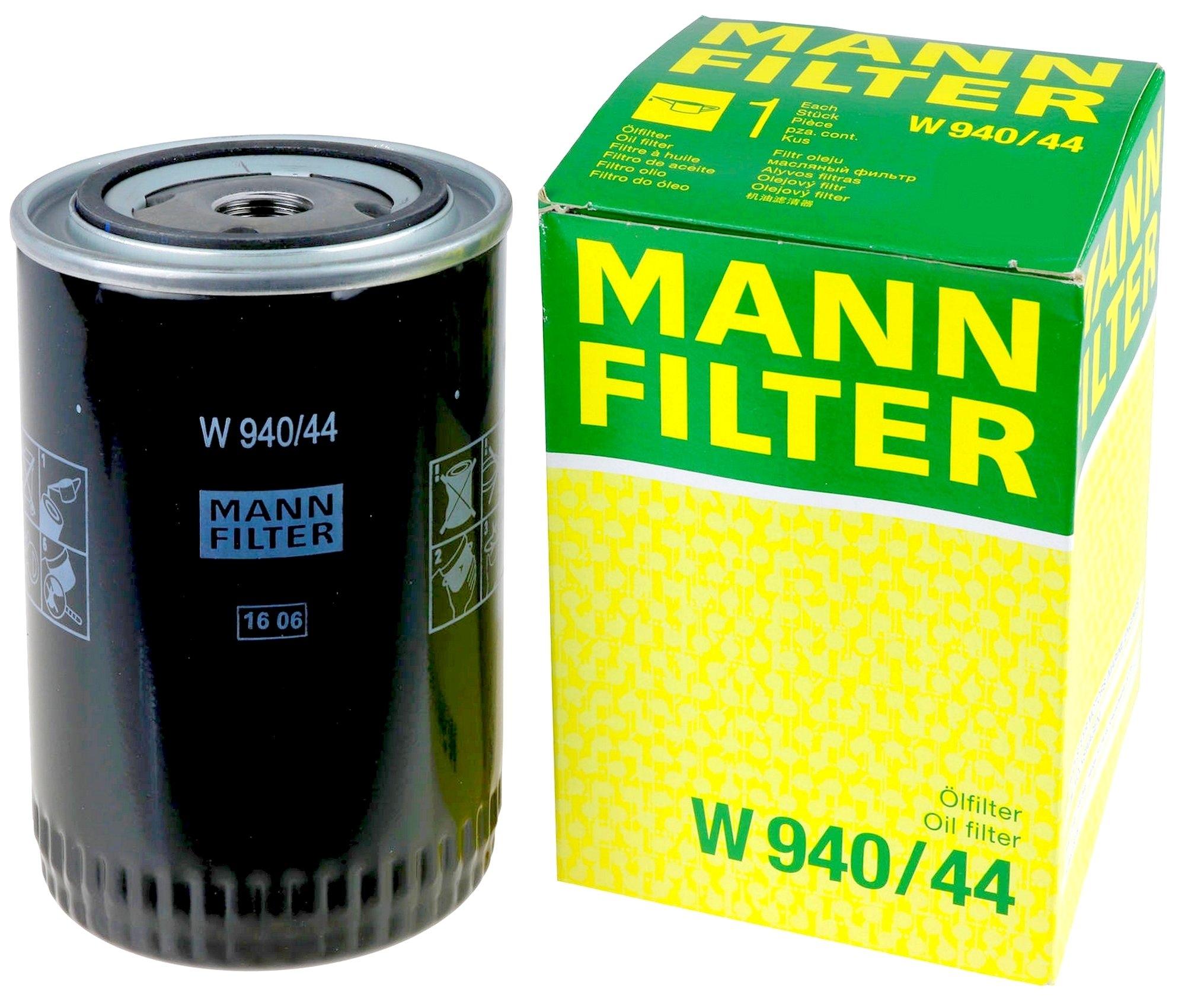 W940/44 фильтр масляный Mann-Filter