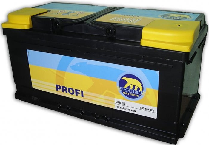 Аккумулятор Baren Profi 585104076 (85Ah)