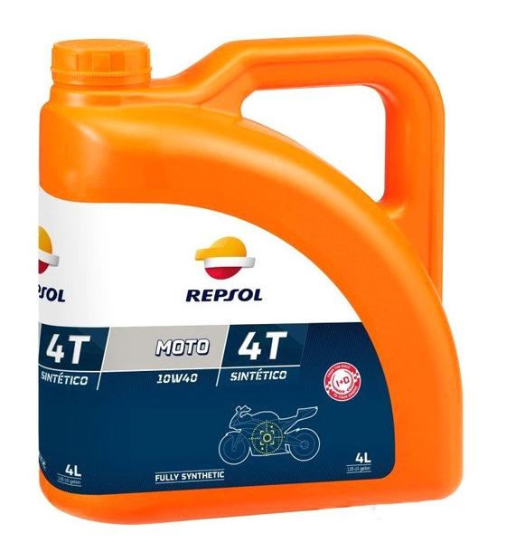 Моторное масло Repsol Moto Sintetico 4T 10W-40 4л