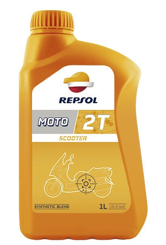 Моторное масло Repsol Moto Scooter 2T 1л