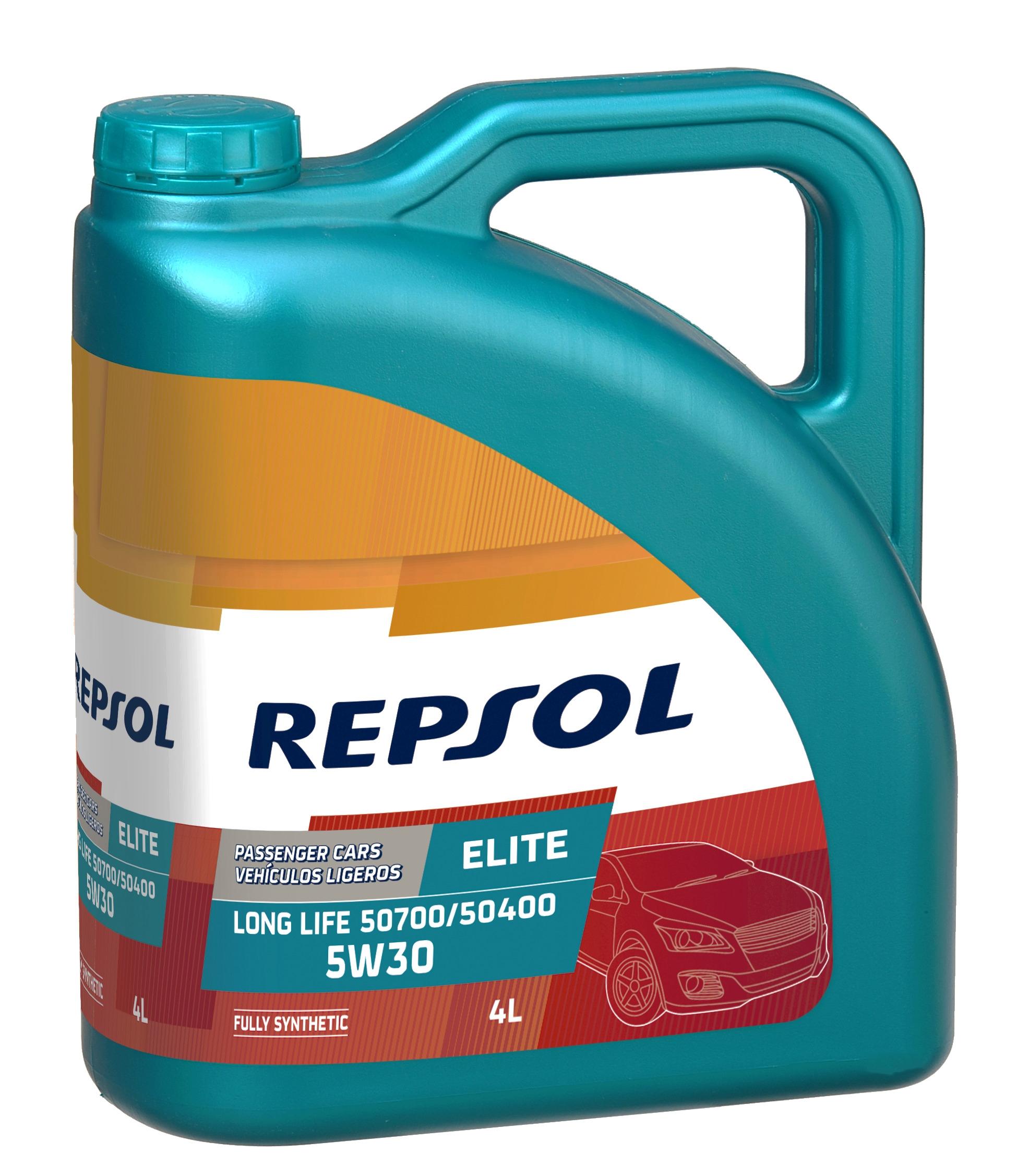 Моторное масло Repsol Elite Long Life 50700/50400 5W-30 4л