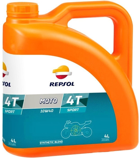 Моторное масло Repsol Moto Sport 4T 10W-40 4л