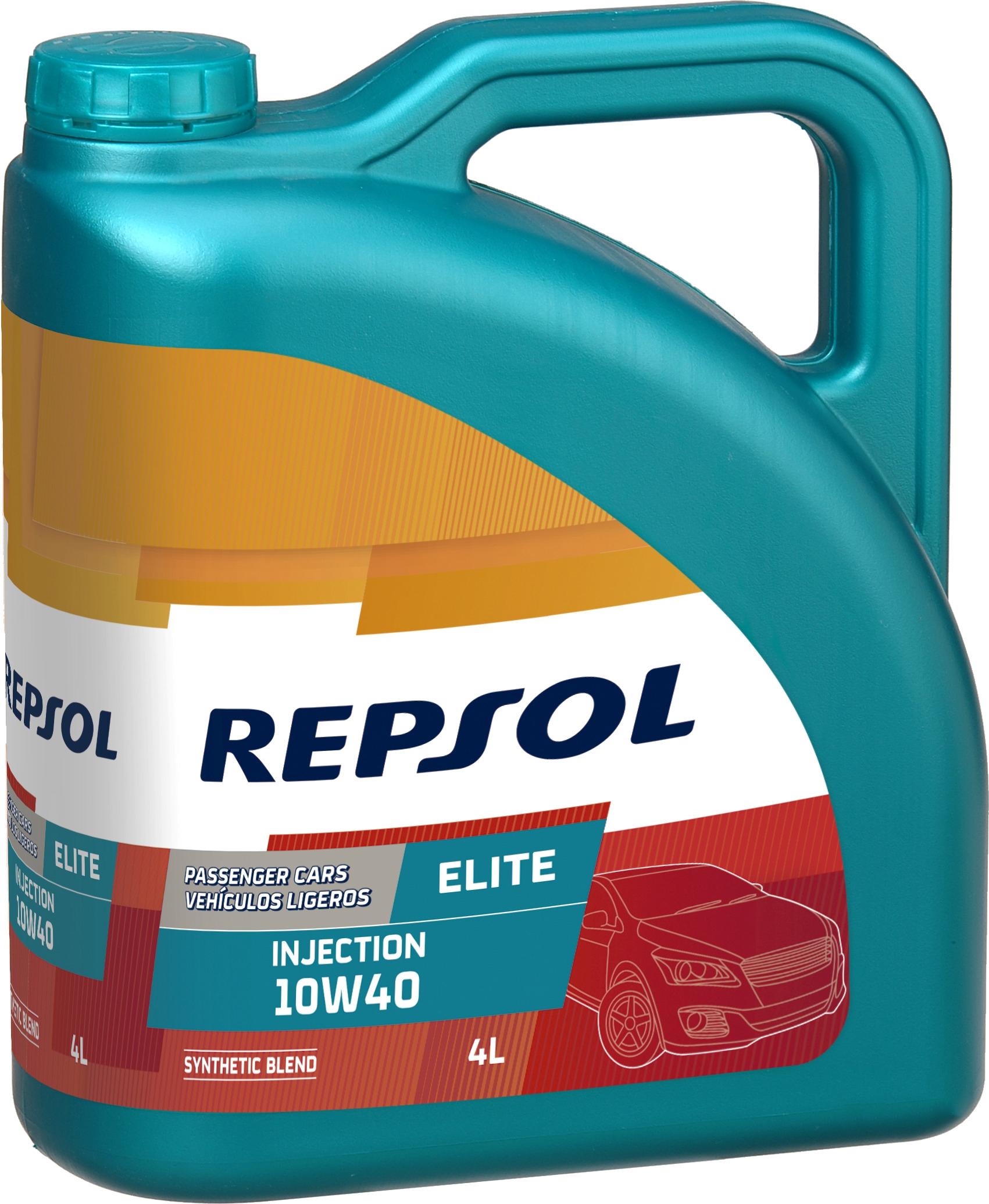 Моторное масло Repsol Elite Injection 10W-40 4л