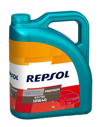 Моторное масло Repsol Premium GTI/TDI 10W-40 5л