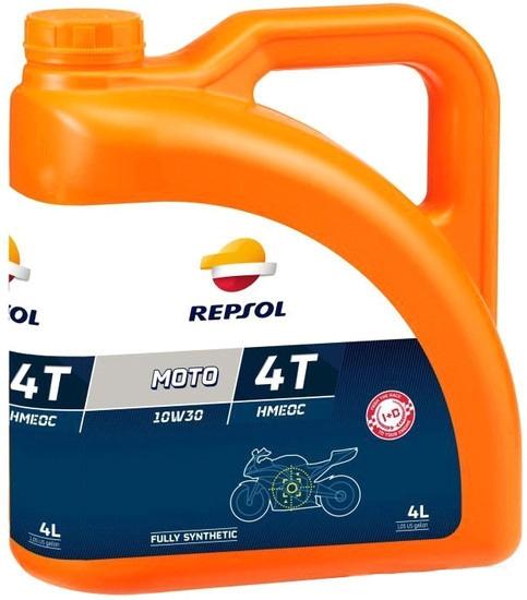 Моторное масло Repsol Moto Racing HMEOC 4T 10W-30 4л