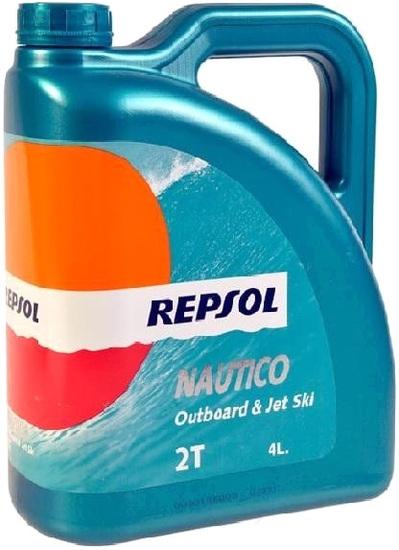 Моторное масло Repsol Nautico Outboard & Jet Ski 2T 4л