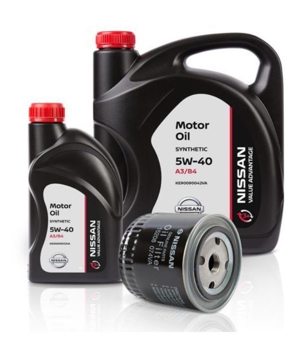 Моторное масло Nissan 5W-40 5л (Value advantage)