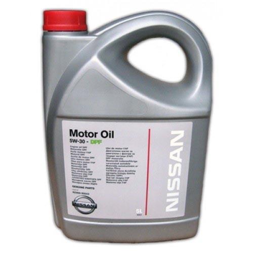 Моторное масло Nissan DPF 5W-30 5л