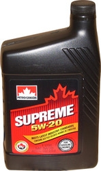 Моторное масло Petro-Canada Supreme 5w-20 1л