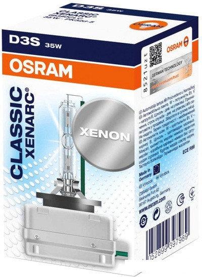 Лампа ксеноновая Osram D3S Xenarc Classic 1шт [66340CLC]