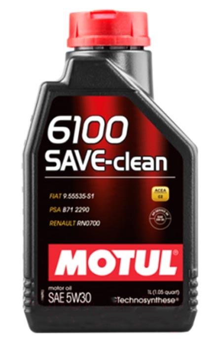Моторное масло Motul 6100 Save-Clean 5W-30 1л