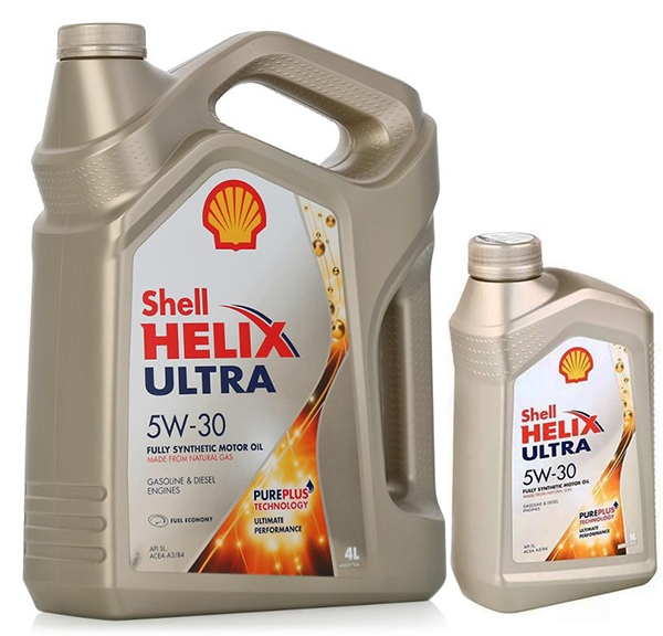 Моторное масло Shell Helix Ultra 5W-30 5л