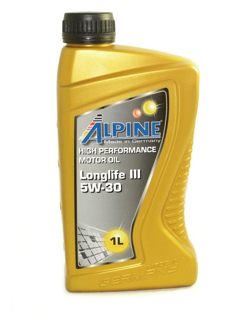 Моторное масло Alpine Longlife III 5W-30 1л