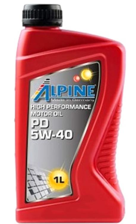Моторное масло Alpine PD Pumpe-Duse 5W-40 1л