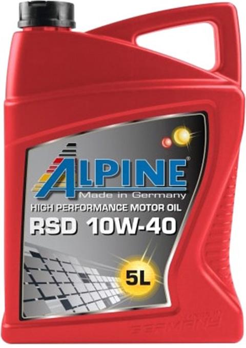 Моторное масло Alpine RSD Diesel-Spezial 10W-40 5л