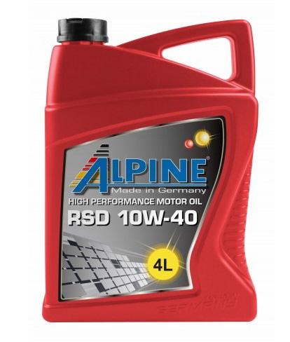 Моторное масло Alpine RSD Diesel-Spezial 10W-40 4л