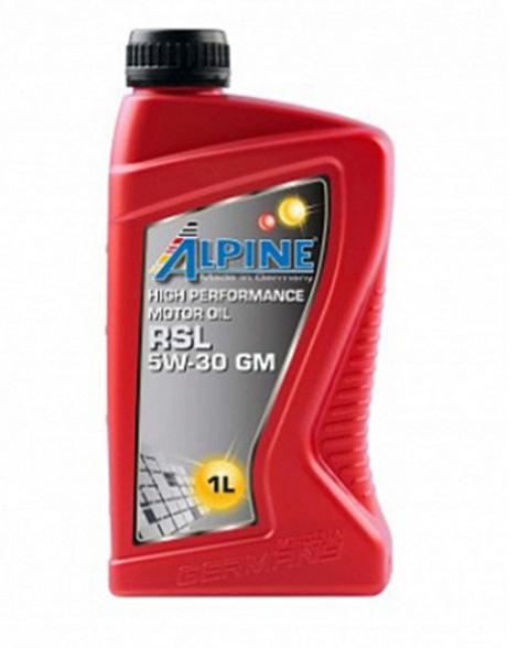 Моторное масло Alpine RSL 5W-30 GM 1л