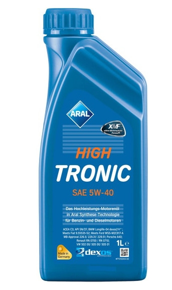 Моторное масло Aral High Tronic SAE 5W-40 1л