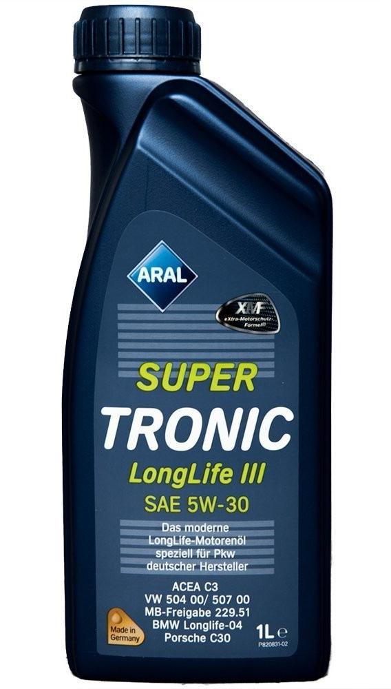 Моторное масло Aral Super Tronic Longlife III SAE 5W-30 1л
