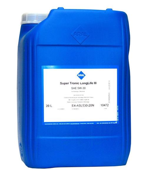 Моторное масло Aral Super Tronic Longlife III SAE 5W-30 20л