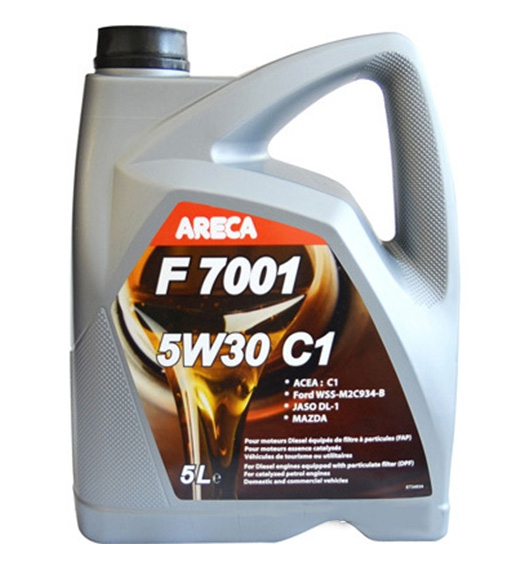 Моторное масло Areca F7001 5W-30 C1 5л