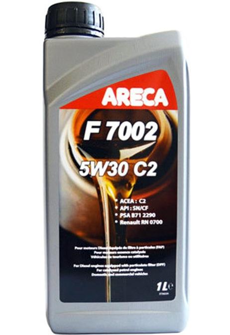 Моторное масло Areca F7002 5W-30 C2 1л