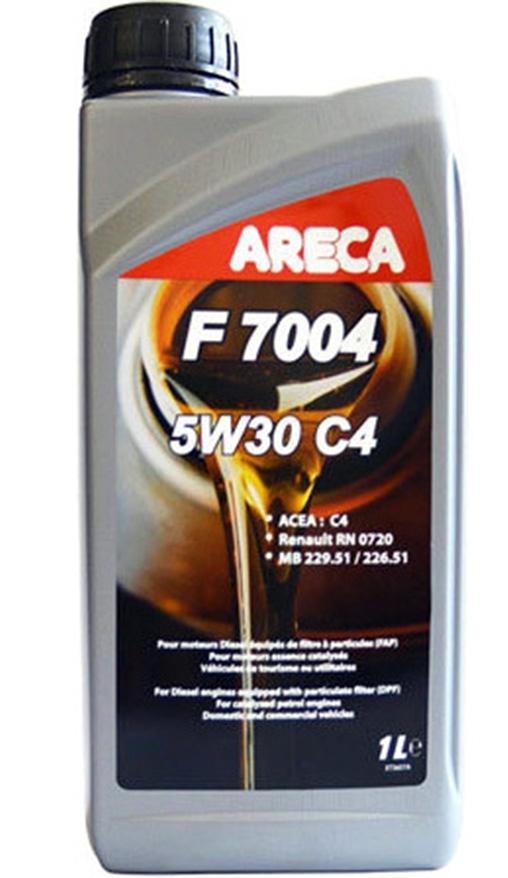 Моторное масло Areca F7004 5W-30 C4 1л