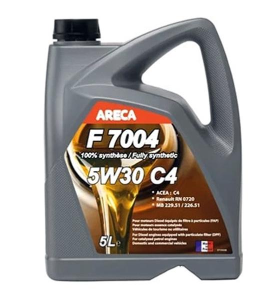 Моторное масло Areca F7004 5W-30 C4 5л