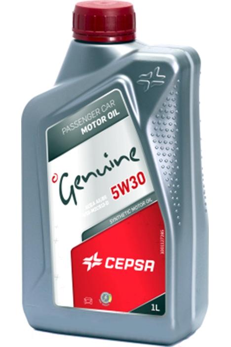 Моторное масло CEPSA Genuine Synthetic 5W-30 1л