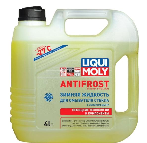 Омыватель стекла зимний Liqui Moly ANTIFROST Scheiben-Frostschutz -27 °C 4л