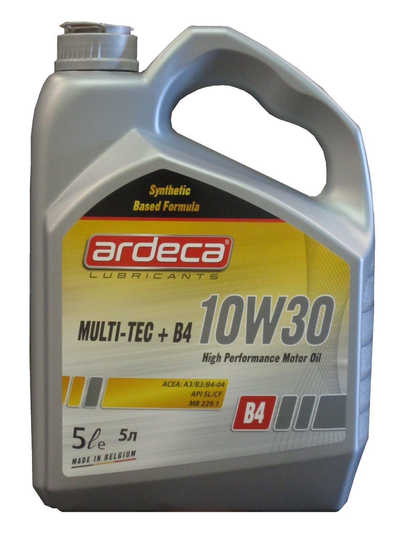 Моторное масло Ardeca Multi-Tec+ B4 10W-30 5л