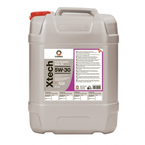 Моторное масло Comma Xtech 5W-30 20л