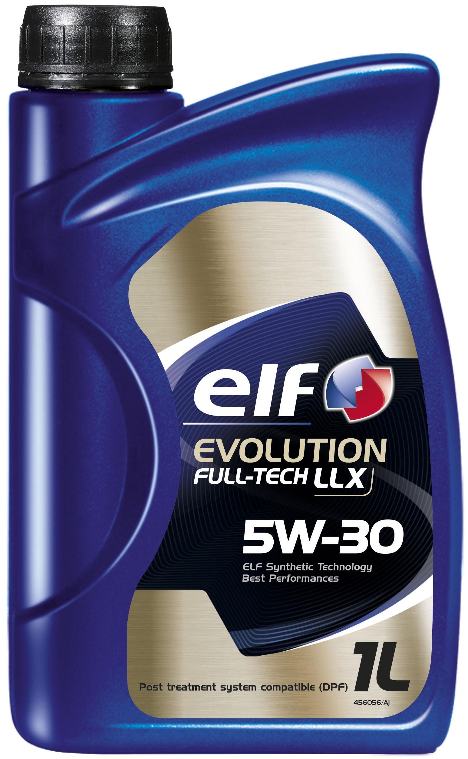 Моторное масло Elf Evolution Full-Tech LLX 5W-30 1л
