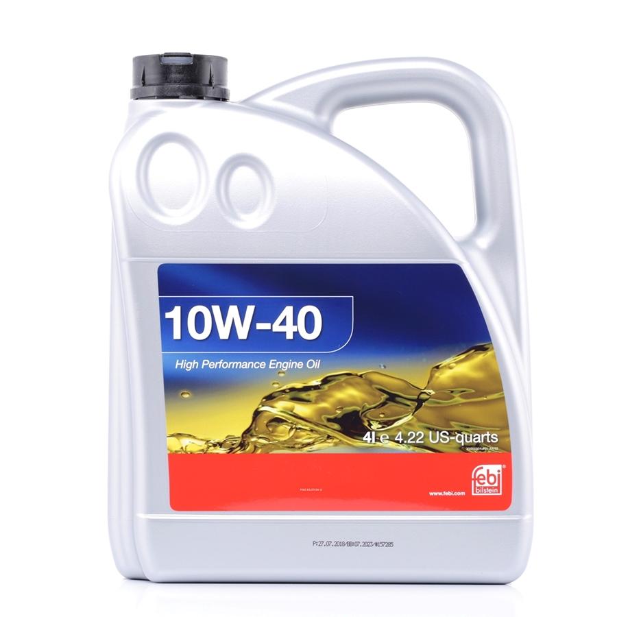 Моторное масло Febi SAE 10W-40 4л