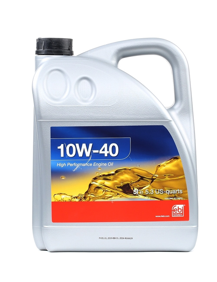 Моторное масло Febi SAE 10W-40 5л