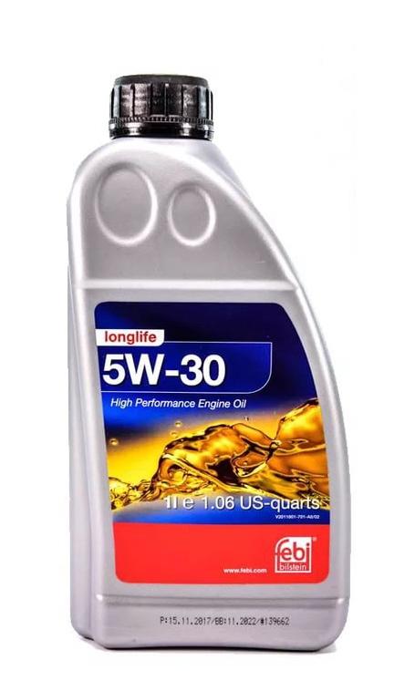 Моторное масло Febi SAE 5W-30 Longlife 1л