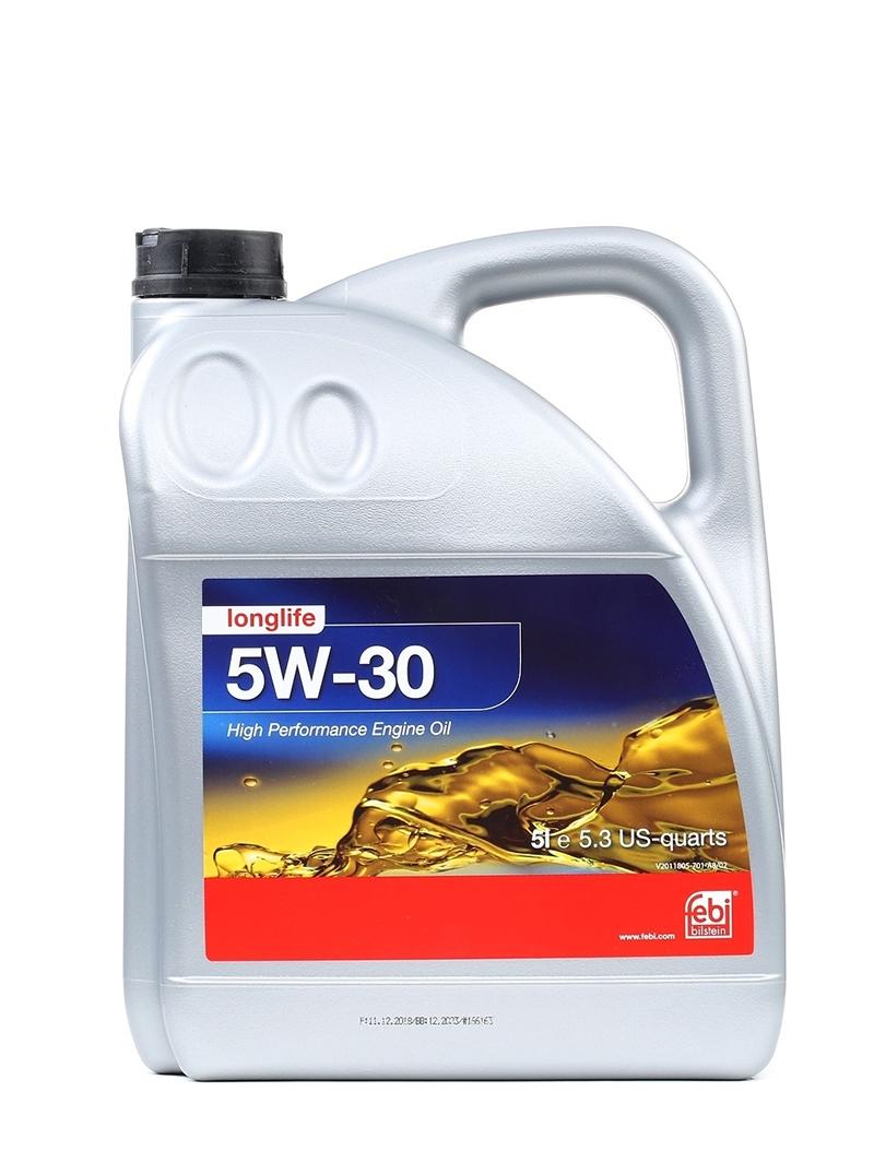 Моторное масло Febi SAE 5W-30 Longlife 5л
