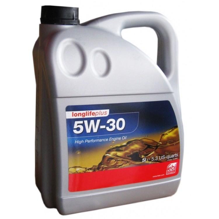 Моторное масло Febi SAE 5W-30 Longlife Plus 5л