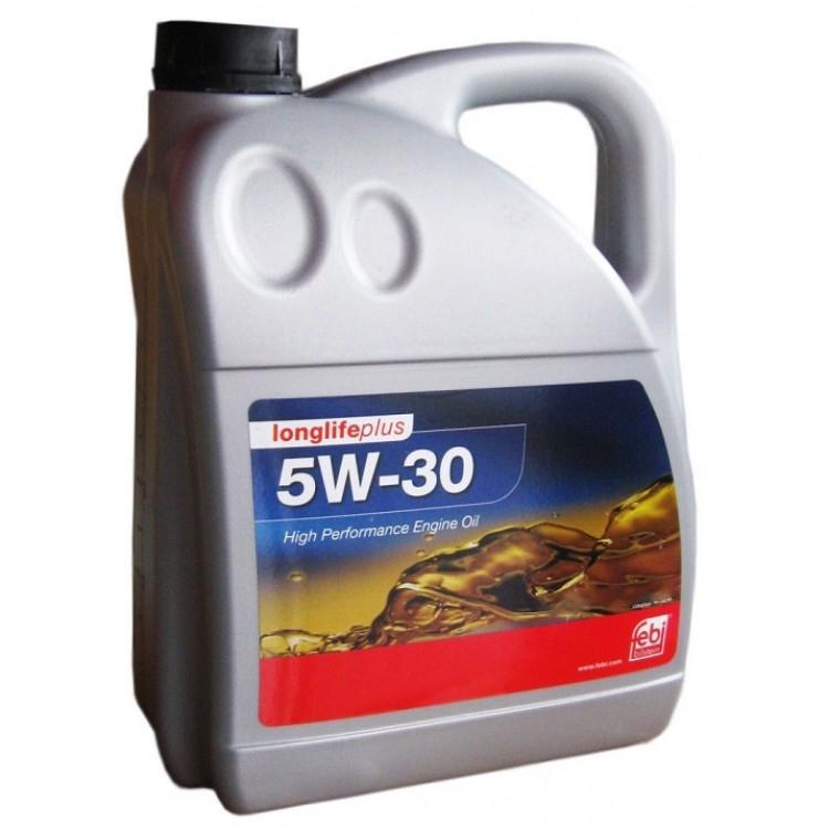 Моторное масло Febi SAE 5W-30 Longlife Plus 4л