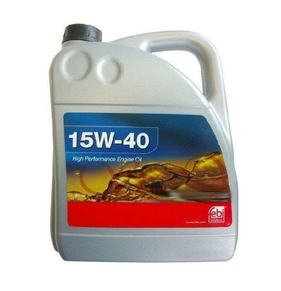 Моторное масло Febi SAE 15W-40 4л