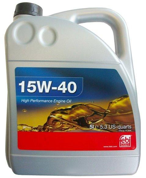 Моторное масло Febi SAE 15W-40 5л