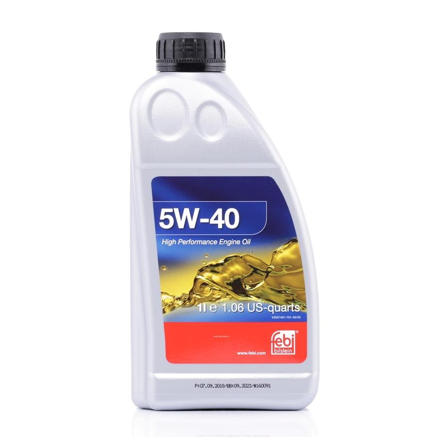 Моторное масло Febi SAE 5W-40 1л