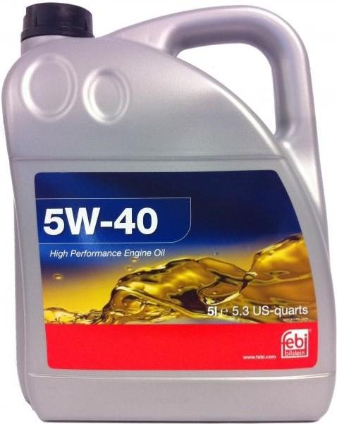 Моторное масло Febi SAE 5W-40 5л