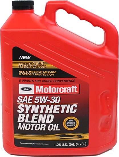 Моторное масло Ford Motorcraft Premium Synthetic Blend 5W-30 4.73л